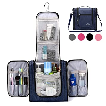Large Hanging Travel Toiletry Bag for Men and Women Waterproof Makeup  Organizer Bag wash bag Shaving 46e0d76f89a87