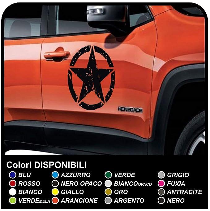 5 opinioni per Adesivi laterali stickers decals aufkleber autocollants porta stella portiera