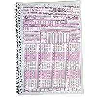 Amblitz OMR Sheet, 50 Sheet Spiral Notebook (A4, Pack of 2)