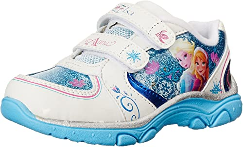 Toddler//Youth Stride Rite Disney Frozen Shoes ANNA AND ELSA Light Up Shoes