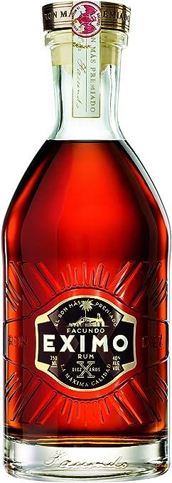 Bacardi 10 Años Facundo Eximo Ron, 700 ml, Pack de 1