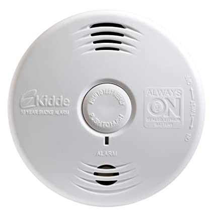 Kidde Worry-Free Bedroom Sealed Lithium Battery Power Smoke Alarm P3010B - 21010161