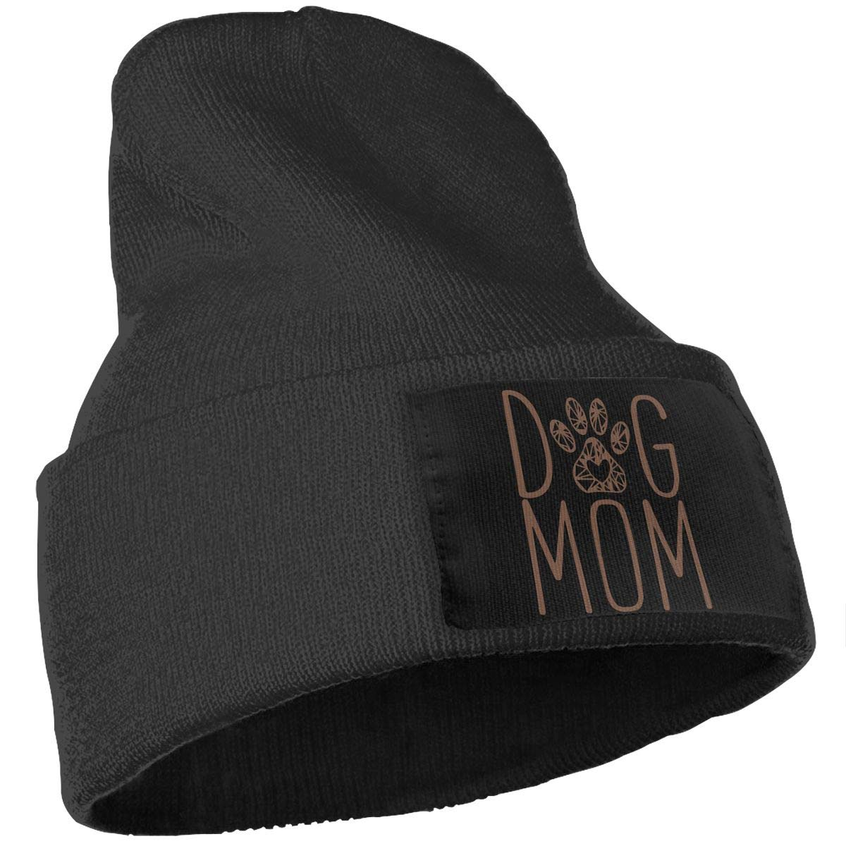 Dog Mom Soft Skull Beanie WHOO93@Y Mens Womens 100/% Acrylic Knitting Hat Cap