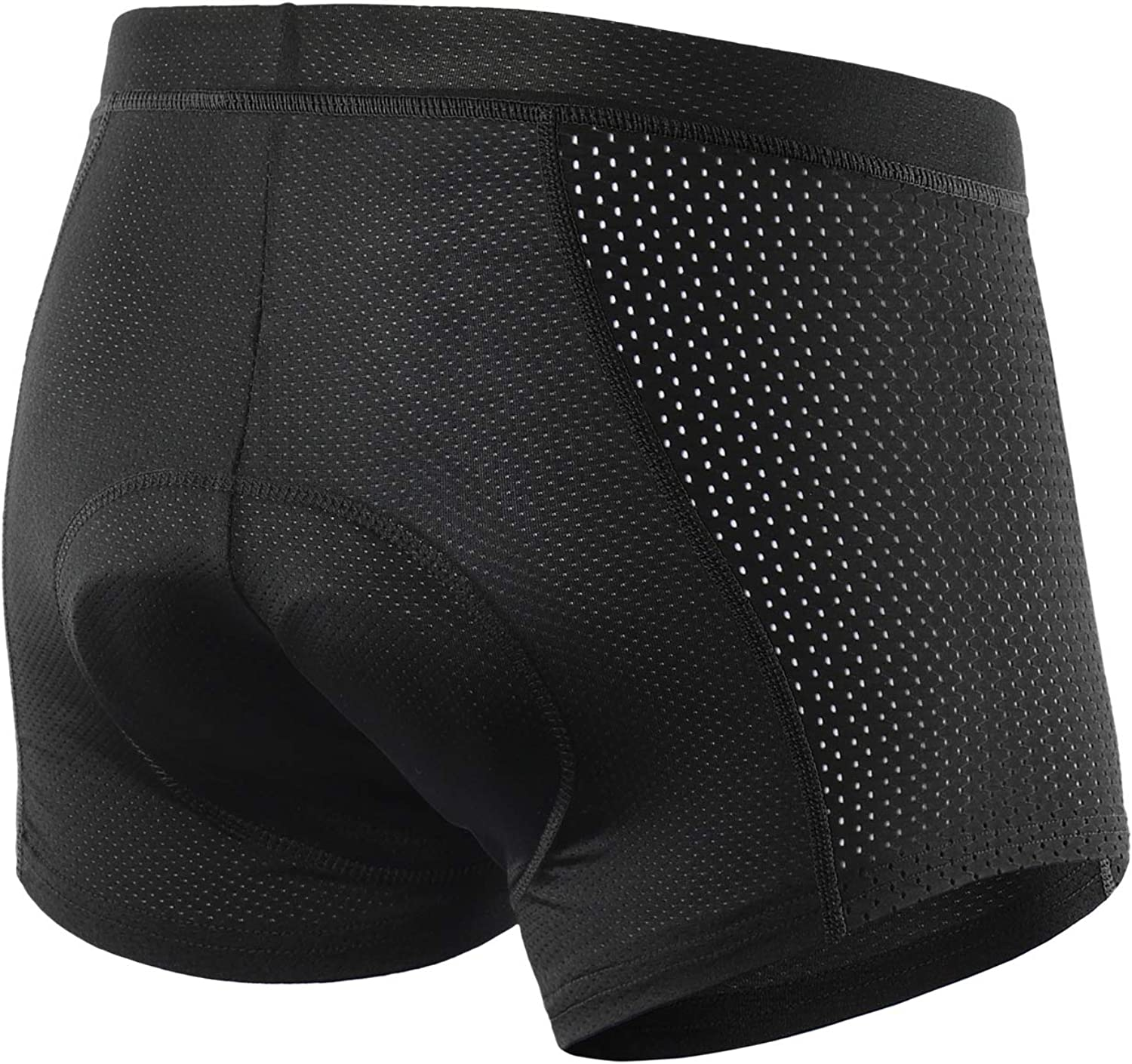 ARSUXEO Men's Gel Padded Cycling Underwear MTB Bike Bicycle Compression Shorts 001C: Clothing