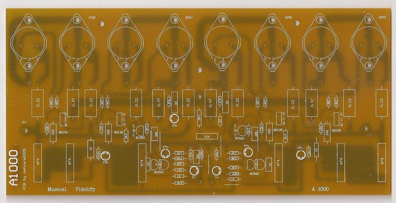 1500w Power Amplifier Pcb Layout