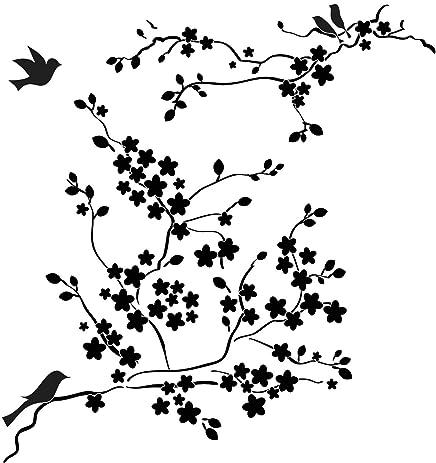 cherry blossom template