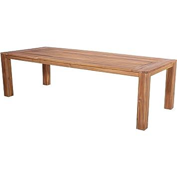 Table Serra Table de jardin en teck table bois d\'acacia Look 240 x ...