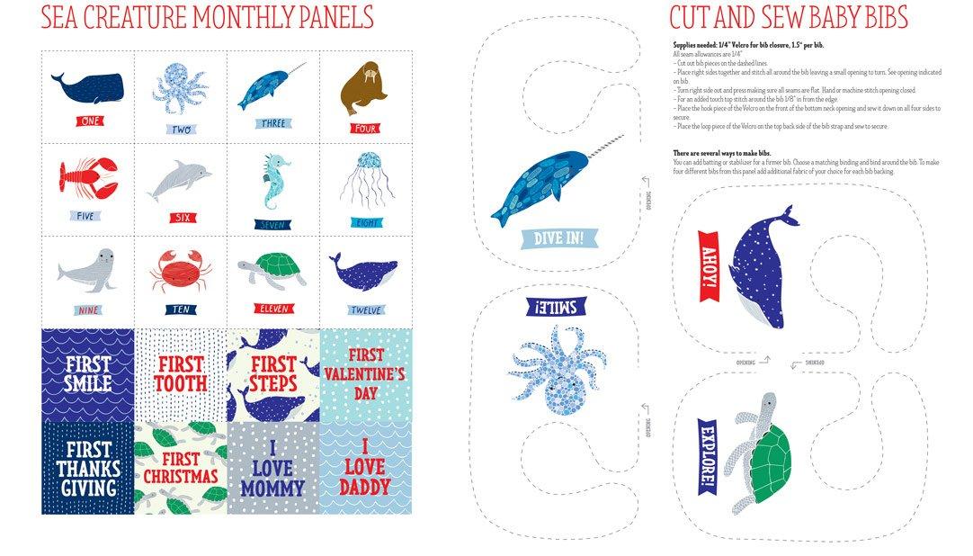 Moda Ahoy Fat Quarter Bundle by Gingiber