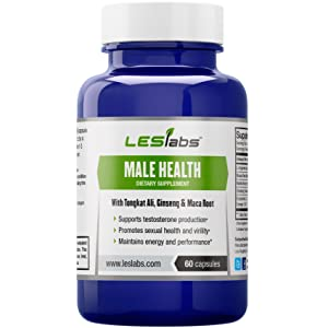LES Labs Male Health - Natural Testosterone Booster