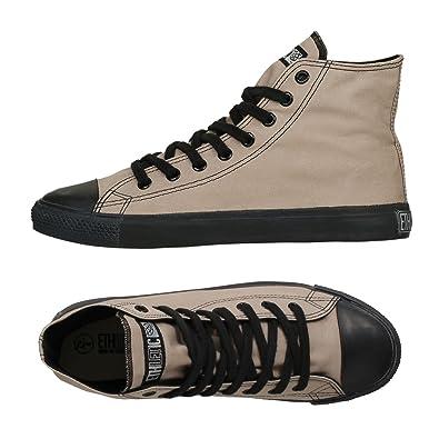 Ethletic Sneaker Vegan Hicut Classic   Farbe Moon Rock Grey/Black Aus Bio Baumwolle  46 EU