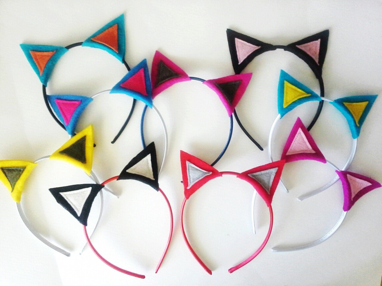 8 pack Plus Party Planning... Details about  /Pink Cat Kitty Kitten Ears Headband Party Favors