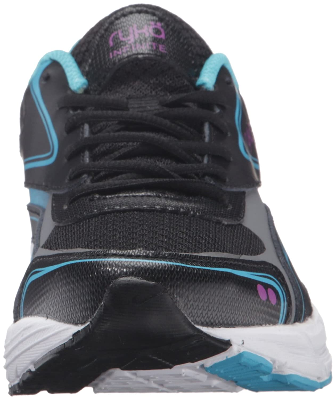 Ryka Women's Infinite Smw Walking Shoe B01BII9HM4 6.5 W US Black/Blue
