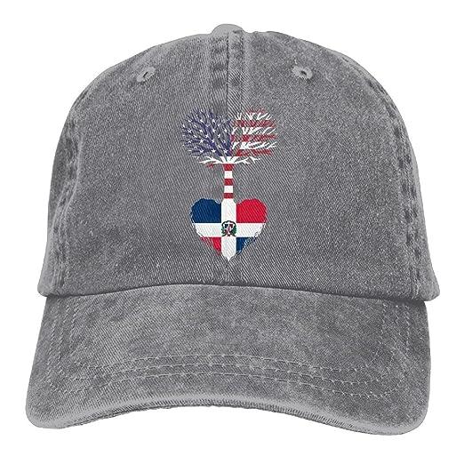 NZWJW85 2018 Adult Fashion Cotton Denim Baseball Cap American Grown  Dominican Root Classic Dad Hat Adjustable Plain Cap at Amazon Men s  Clothing store  2834d8639b9