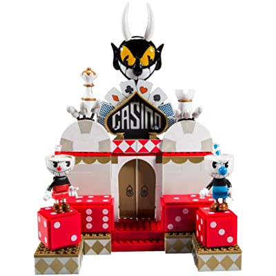 McFarlane Toys Cuphead Chaotic Casino Large Construction Set: Toys & Games