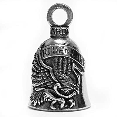 Guardian Bell Live To Ride Motorcycle Biker Luck Riding Bell: Home & Kitchen