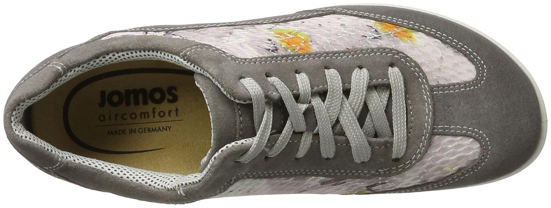 Jomos Allegra, Zapatos de Cordones Brogue para Mujer, Gris (Plume 880-225), 39 EU