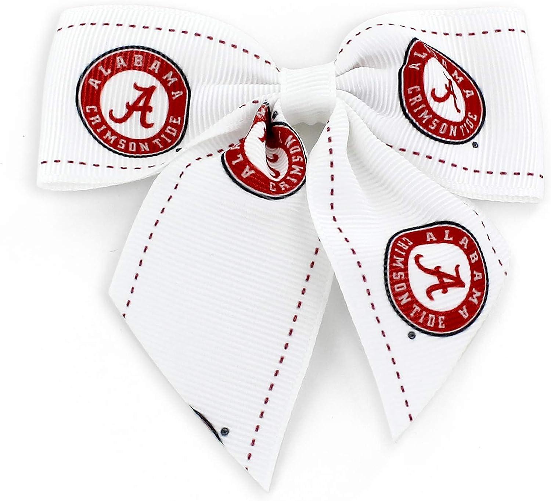 aminco NCAA Alabama Crimson Tide Team Bow Hair Clip