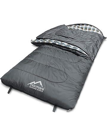 Bessport Schlafsack Winter -10/°C Outdoor Mumienschlafsack f/ür Camping und Bergsteigen mit Ultraleichter und Ultrakompakter 100/% Spr/üh Gebundene Baumwolle 350g//m/² F/üllung