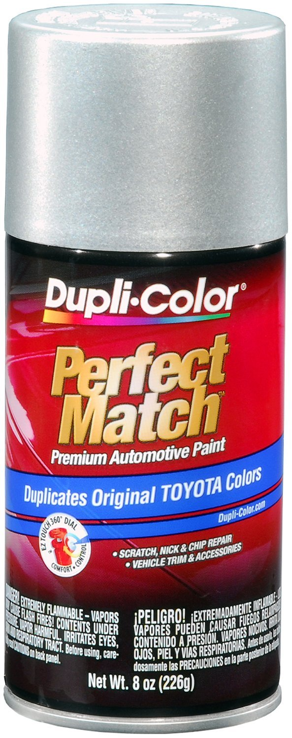 Dupli-Color (EBTY16027-6 PK) Silver Metallic Toyota Exact-Match Automotive Paint - 8 oz. Aerosol, (Case of 6) by Dupli-Color