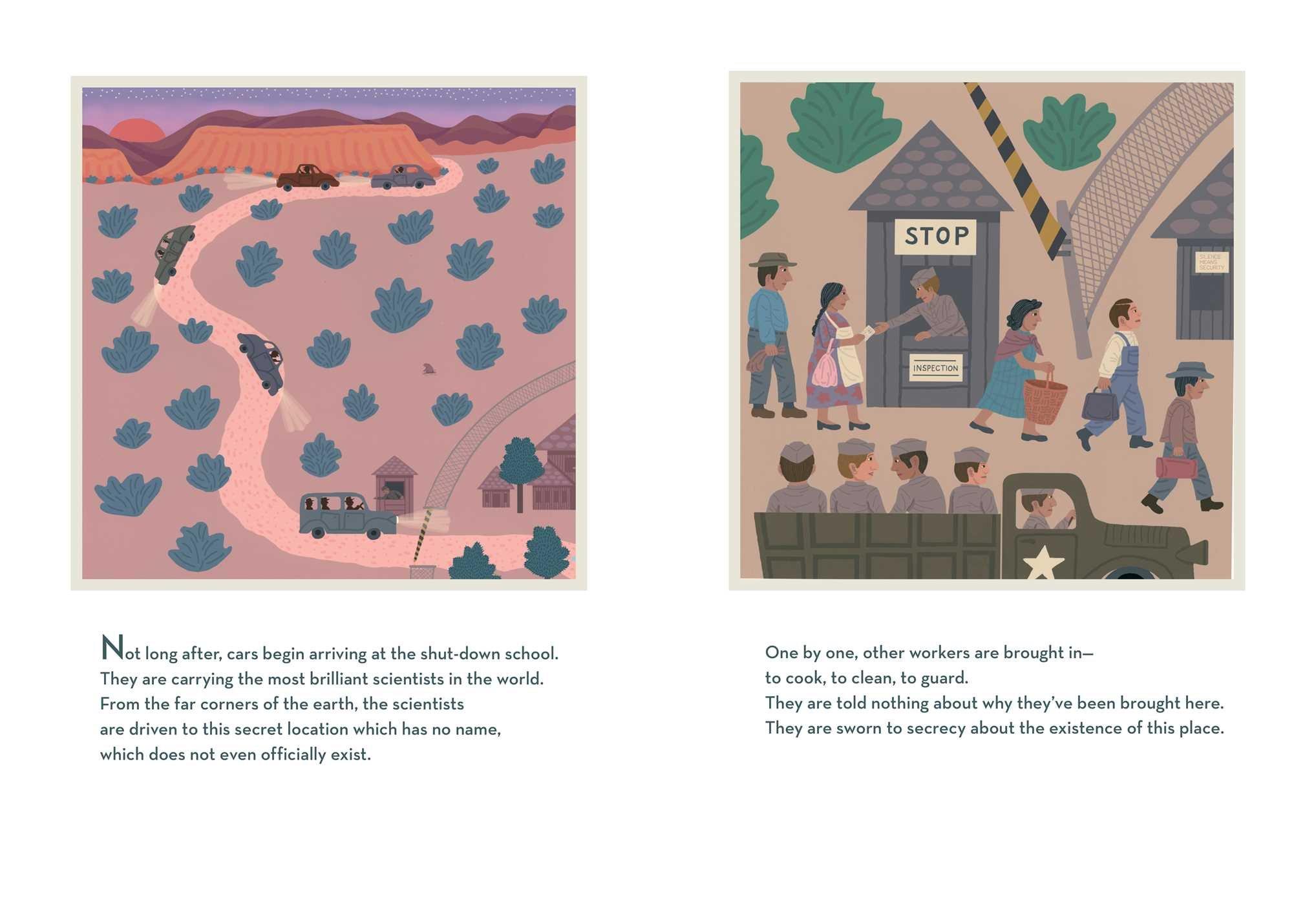 The Secret Project: Jonah Winter, Jeanette Winter: 9781481469135:  Amazon: Books