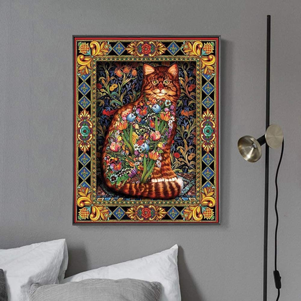 TINY FUN 5D DIY Diamond Painting Full Drill Cross Stitch Kit 20% OFF £5.59 @ Amazon