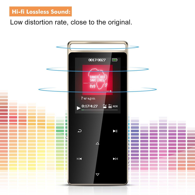 Touch Be nfeld Metall 8GB MP3 Player Tragbare Musik Amazon Elektronik
