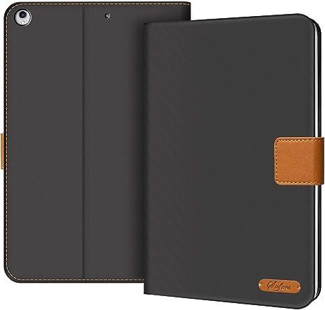 Multi-Winkel Standfunktion und Auto Wake//Sleep Cover EasyAcc Leder H/ülle f/ür iPad 9.7 2018 iPad 6//2017 iPad 5// iPad Air//Air 2 360 Grad Drehung mit Stifthalter Braun Premium PU Leder ohne Plastik
