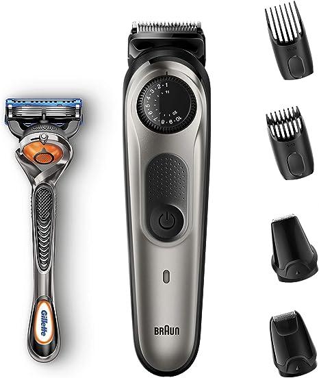 Braun BT7020 - Recortadora de Barba y Cortapelos Hombre, Recortadora para Pequeños Detalles, Afeitadora Mini, con Cuchillas Afiladas de Larga Duración, Incluye ...
