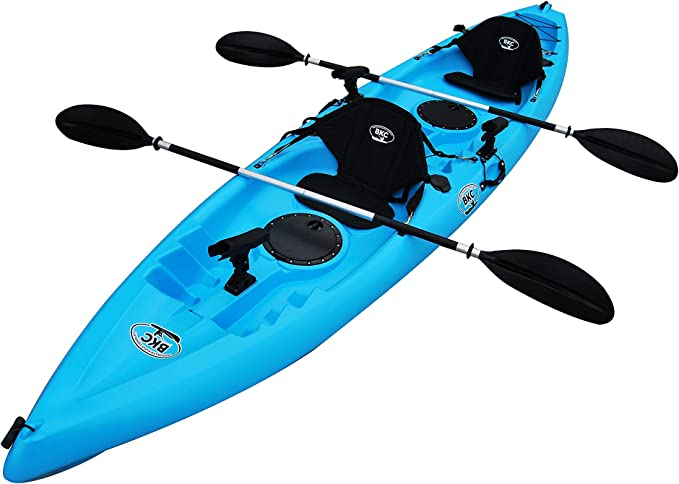 Bkc Uh Tandem Two Person Fishing Kayaks