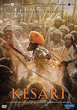 Kesari Hindi DVD ( ALL Regions English Subtitles ): Amazon