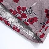 AOJIAN Women Jacket Sleeveless Outwear Vintage Vest Floral Print Oversize Coat Waistcoat Gilet