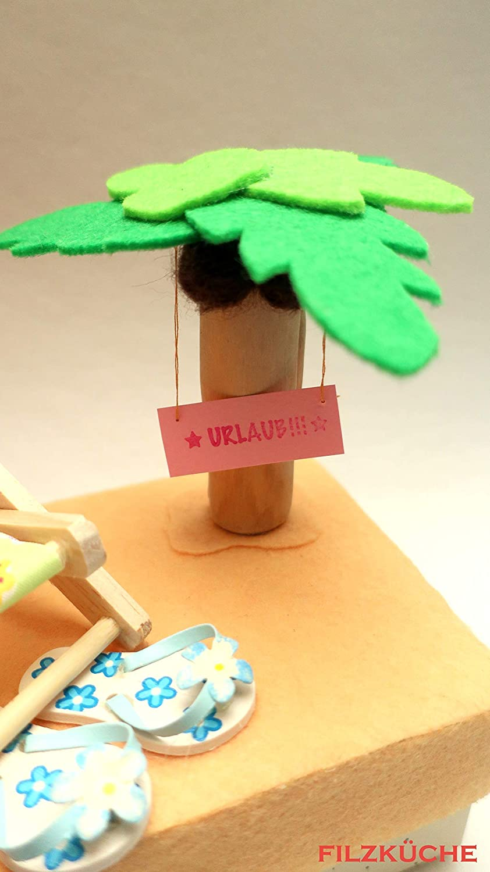 Spardose Urlaubskasse Strand Geldgeschenk Verpacken Amazon De Handmade