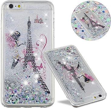 Apple iPhone 6S Plus Cute Glitter Case