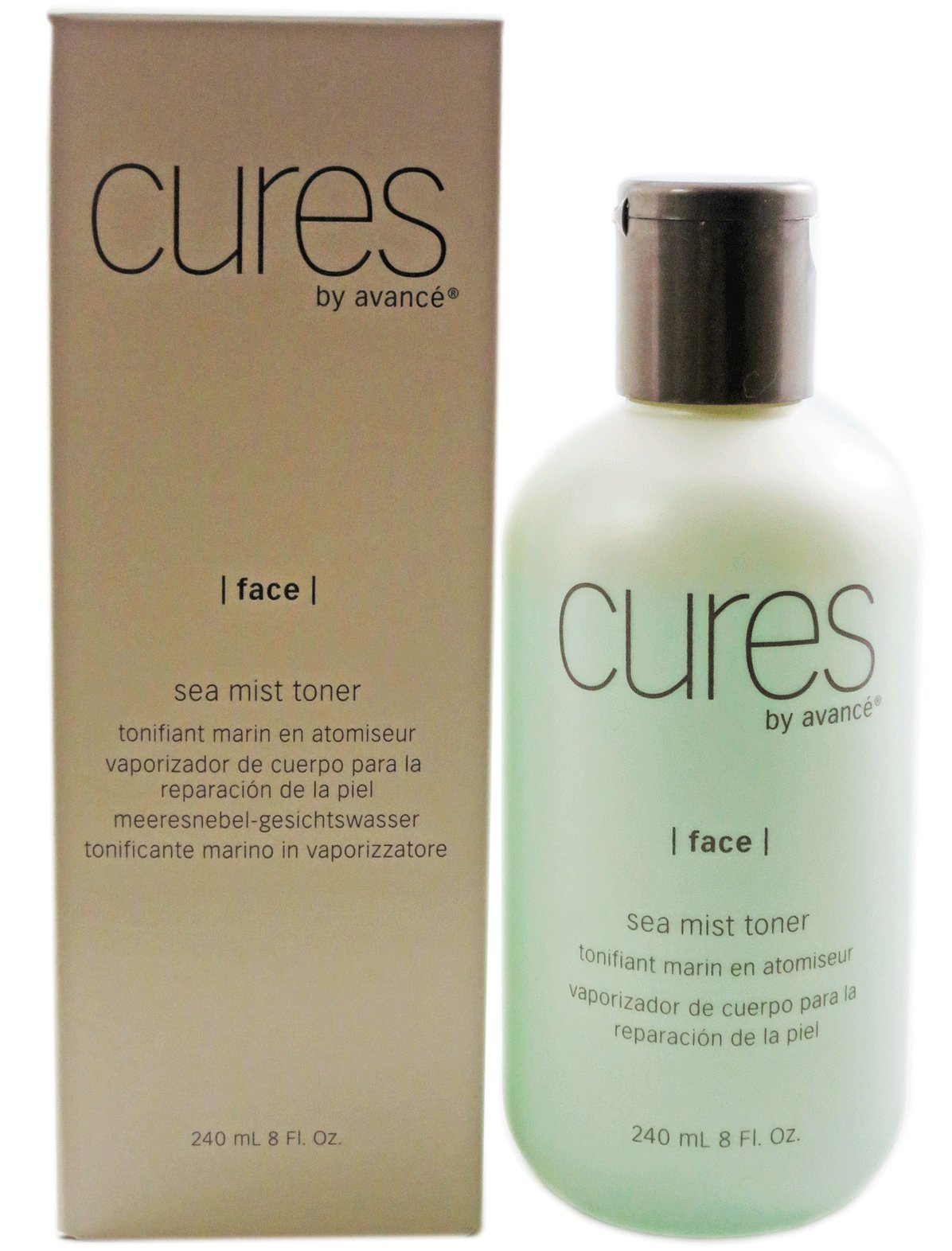 Cures By Avance Algae Deep Pore Cleanser 4 oz Elizavecca, Hell-Pore Clean Up, AHA Fruit Toner , 200 ml(pack of 1)