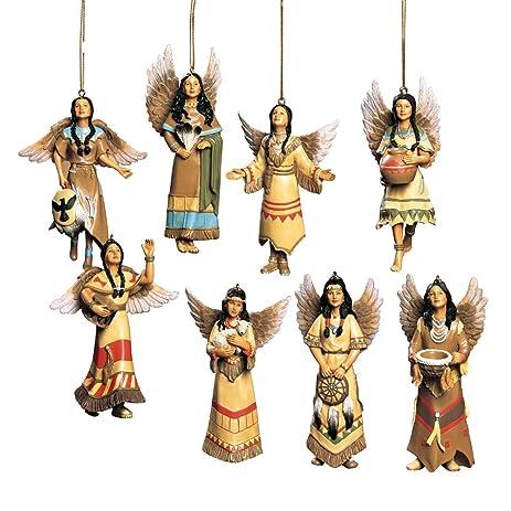 Southwest Angel Christmas Ornaments, Native American, Set of 8 - Amazon.com: Southwest Angel Christmas Ornaments, Native American