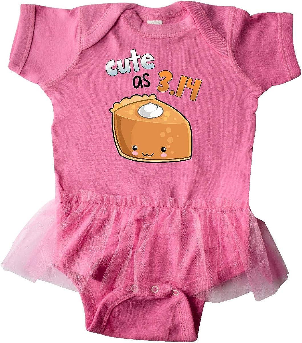 inktastic Cute As 3.14 Pi Day Pumpkin Pie Pun Infant Tutu Bodysuit