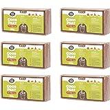 Coco&Coir 6 x 650 g (9L) – Orgánico – Fibra de Coco 100% Natural Repelente al frío, Cepillo de Coco de Coco Mezclado de Calidad Premium