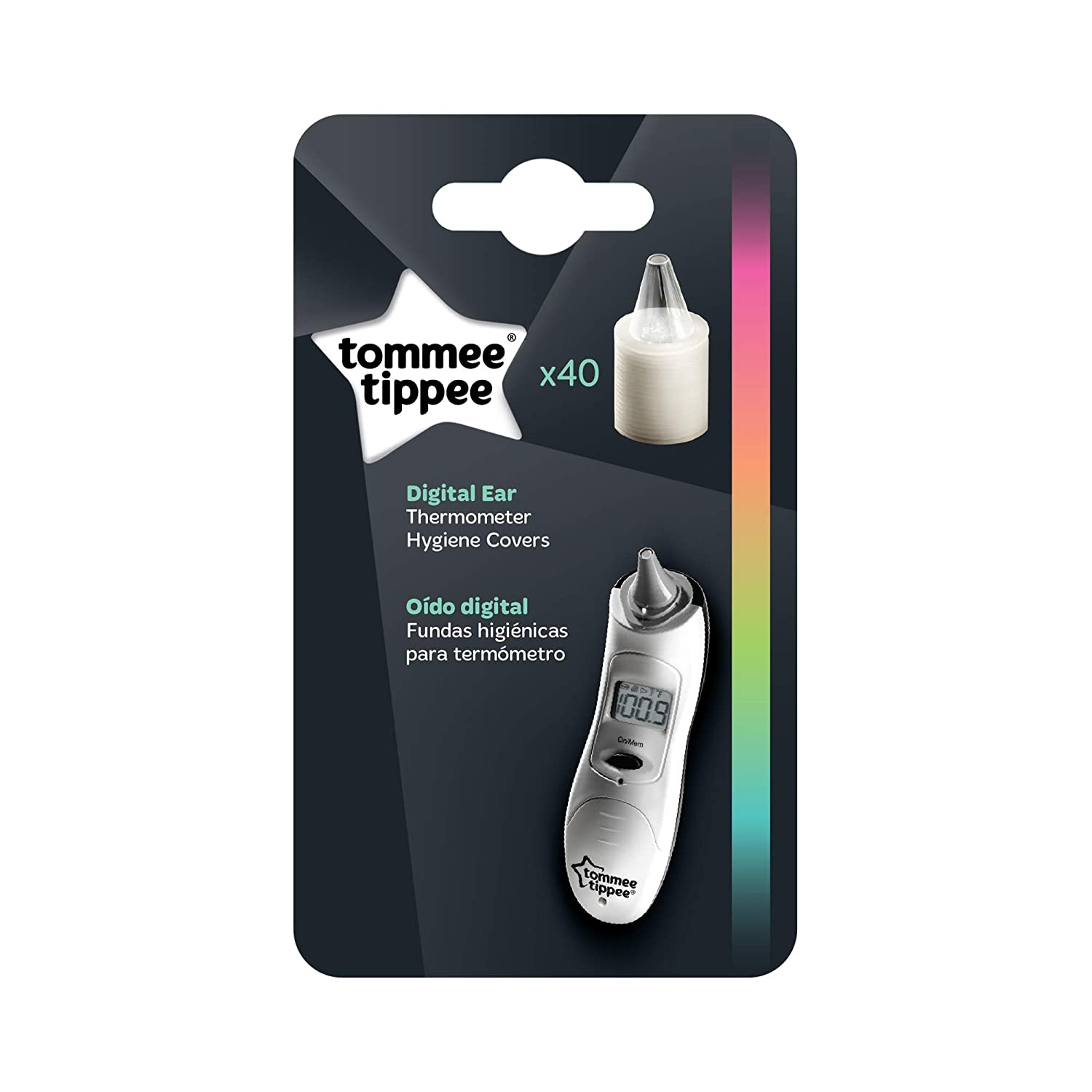 Amazon.com: Tommee Tippee Closer to Nature Digital Thermometer Refills (40-Pack): Baby