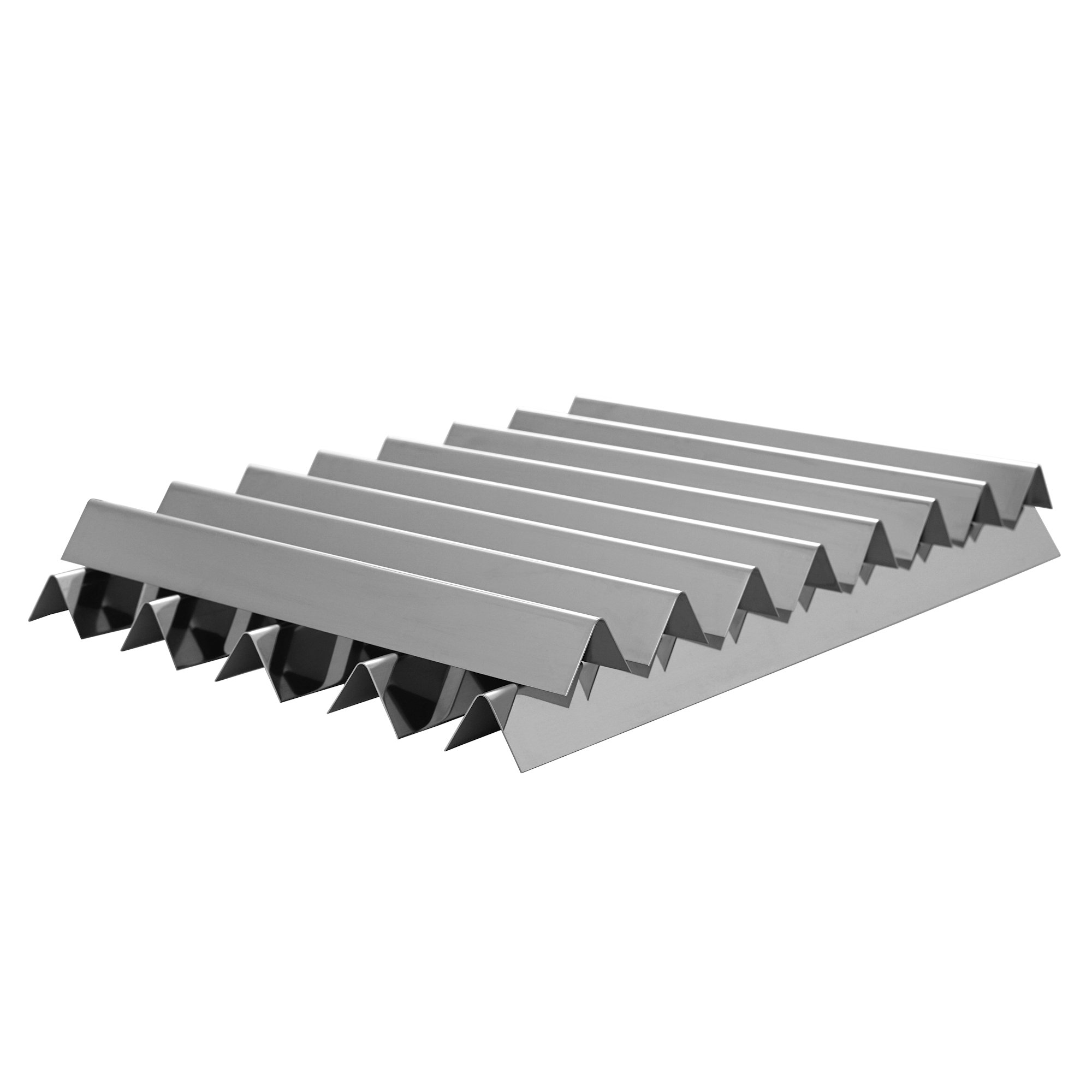 BBQ-Toro Stainless Steel Flavorizer Bars (8 pcs + 5 pcs) | 16.0 inches + 23.4 inches | 19 Gauge | for Weber Genesis 1000-5500, Genesis Platinum I & II
