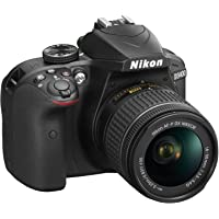 Nikon VBA490K006 D3400 Digital SLR Kamera 18-55 + 70-300mm AF-P NON VR (2 Yıl Nikon Yetkili Dist. Karacasulu Garantili)