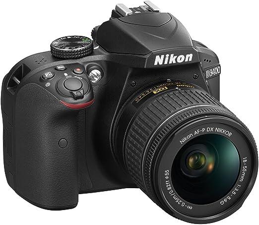18 opinioni per Nikon D3400 Fotocamera Double Zoom Kit, colore: nero