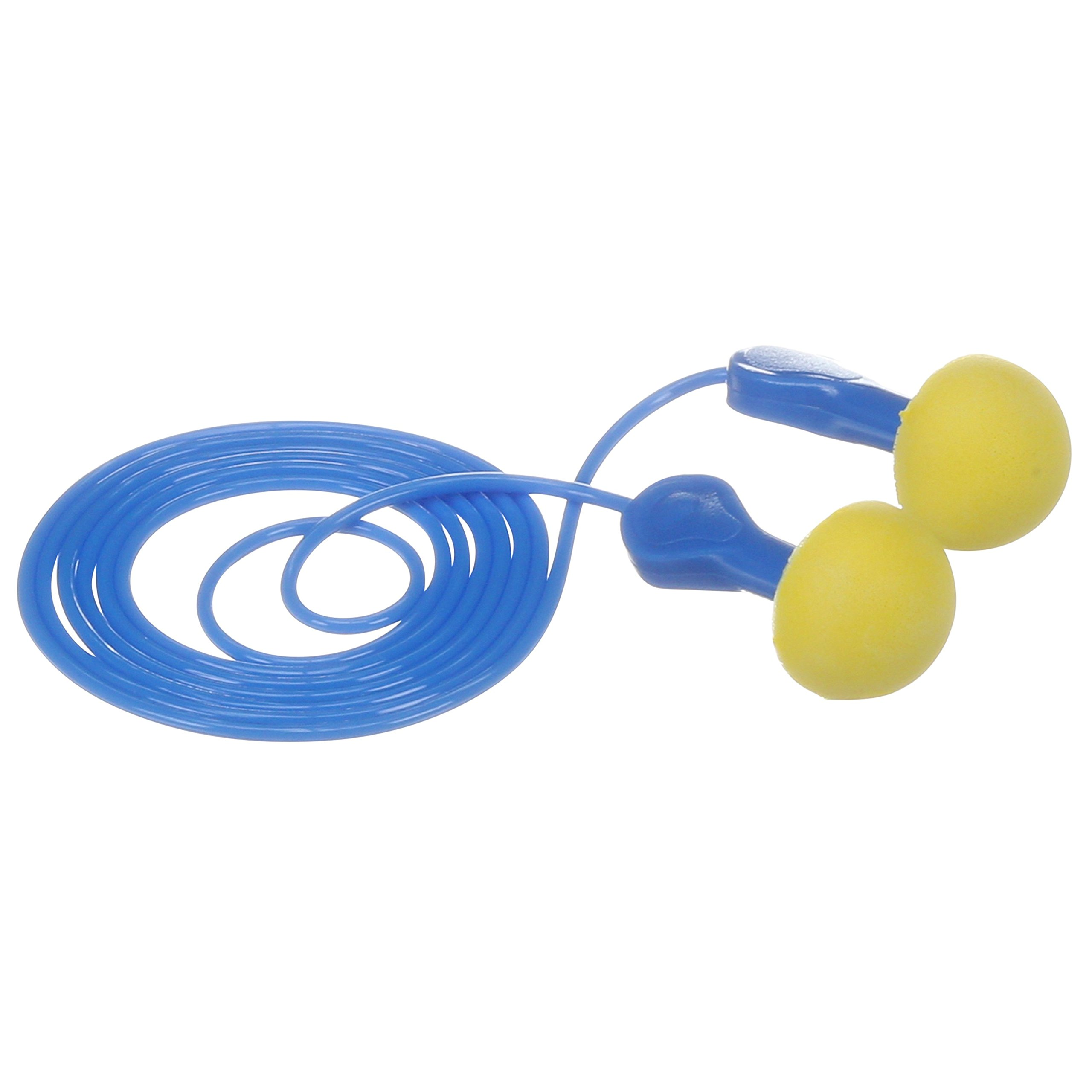 3M E-A-R Express Pod Plugs Corded Earplugs, Hearing Conservation Blue Grips 311-1114 in Pillow Pack (Pack of 100) by 3M Personal Protective Equipment (Image #3)