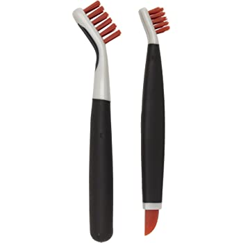 Amazon Com Oxo Good Grips Deep Clean Brush Set Orange