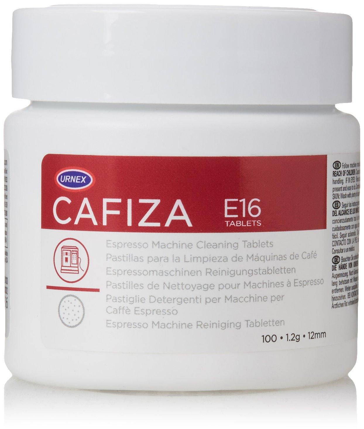 Amazon.com: Urnex Cafiza Espresso Machine Cleaning Tablets, 100 Count: Prime Pantry