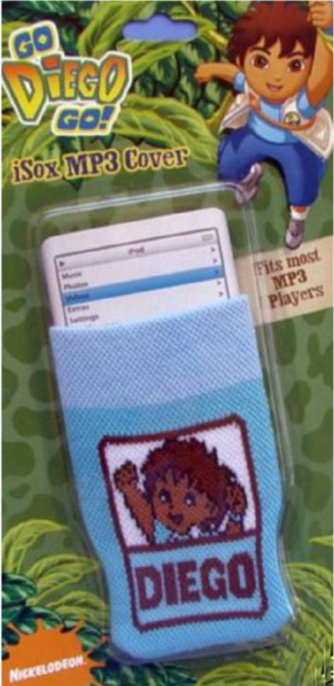 Go Diego Go! iSOX MP3 Player Case by Nickelodeon (Image #1)