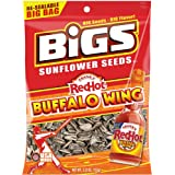 Bigs Frank's Hot Buffalo Wing Sunflower Seed, 5.35-Ounce (Pack of 12)