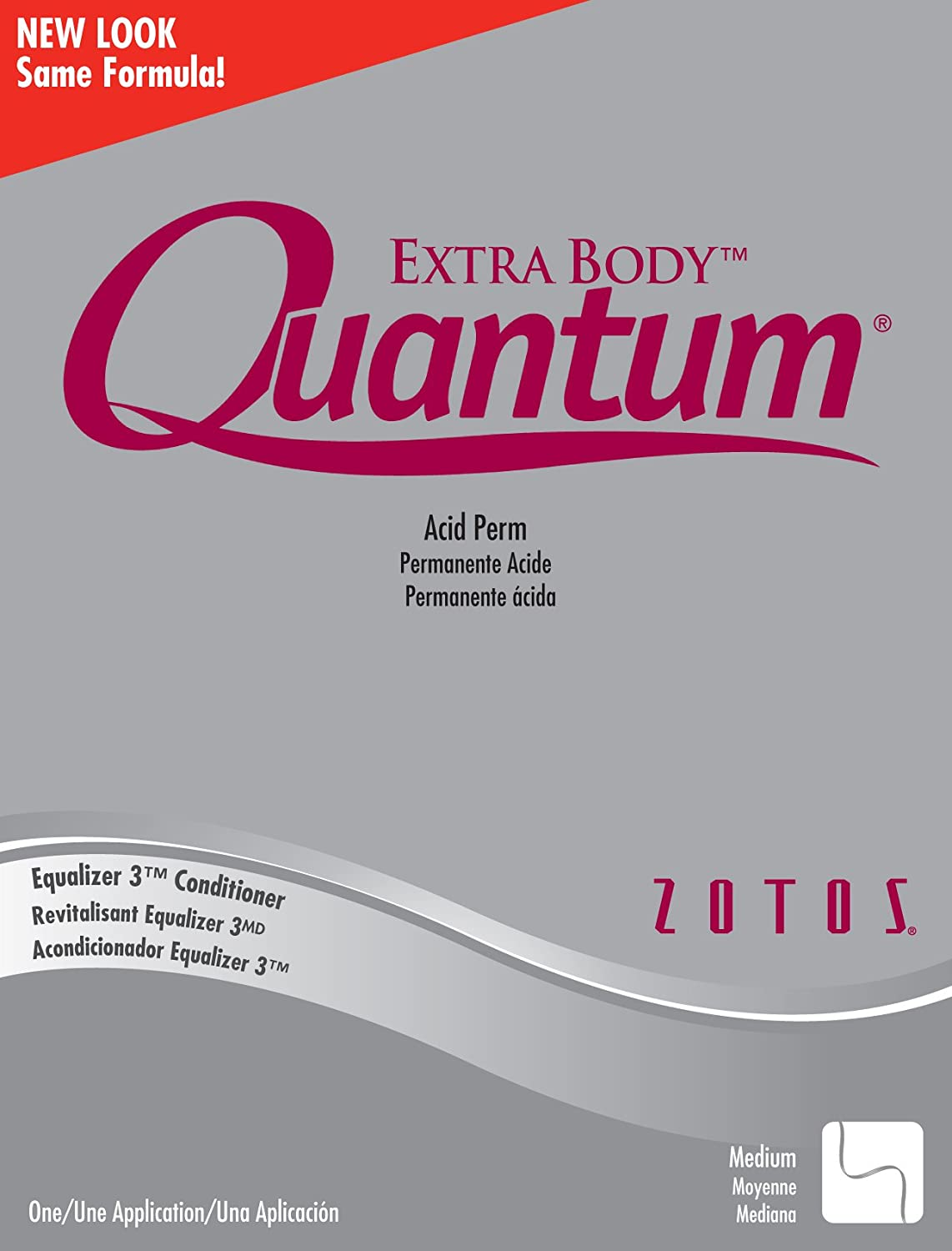Quantum Perm Kit - Extra Balance Silver (Pack of 2)