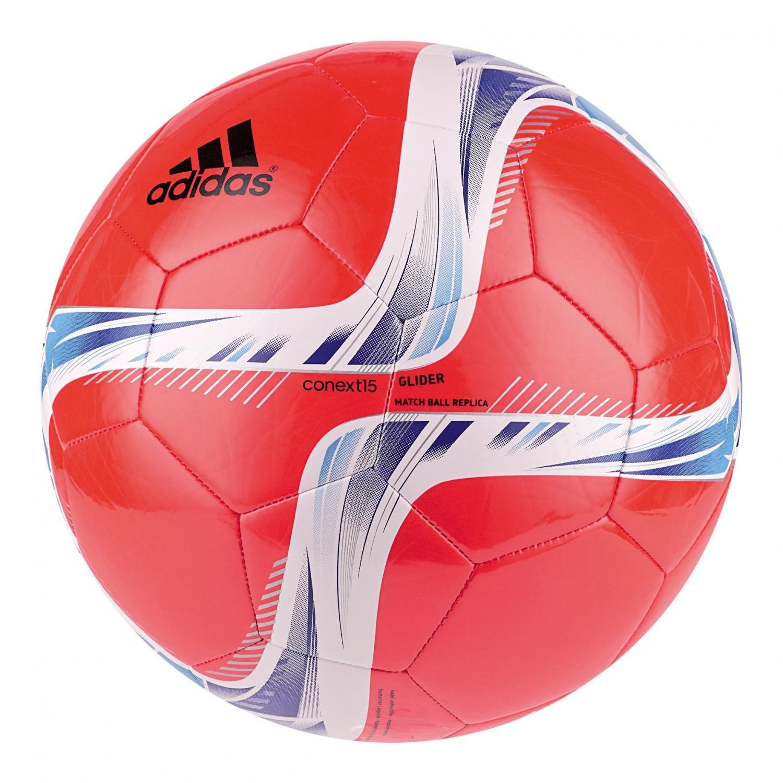 adidas Herren CONEXT 15Glider Ball-White/grün/rot/schwarz, Größe 5 Größe 5 7040.041