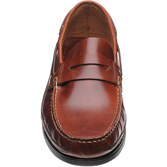 Herring Salcombe Rubber-Soled Deck Shoes in Chestnut: Amazon.co.uk: Shoes &  Bags