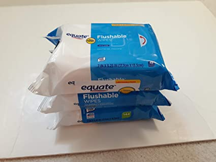 240ct Compare to Cottonelle Fresh Wipe Equate Flushable Wipes 5 pack of 48 Ea
